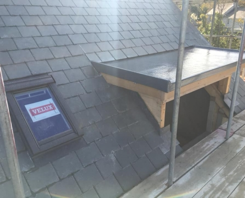 Velux fitting by Bosworth Roofing Penzance